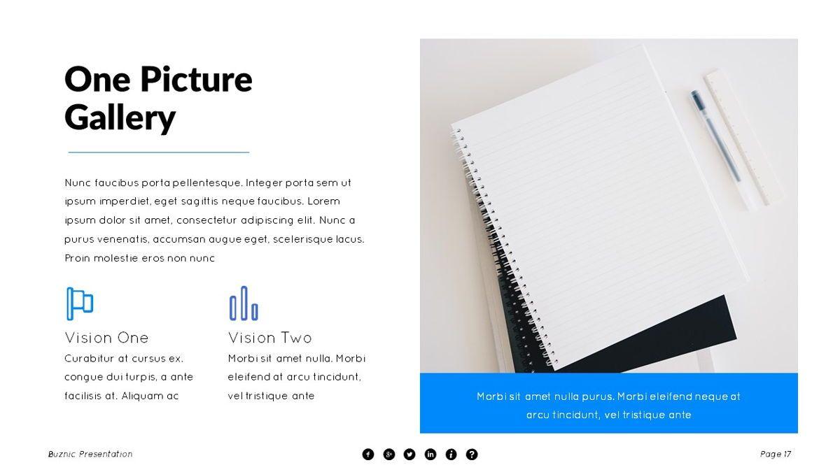Buznic - Business Powerpoint Template, Slide 18, 06526, Business Models — PoweredTemplate.com