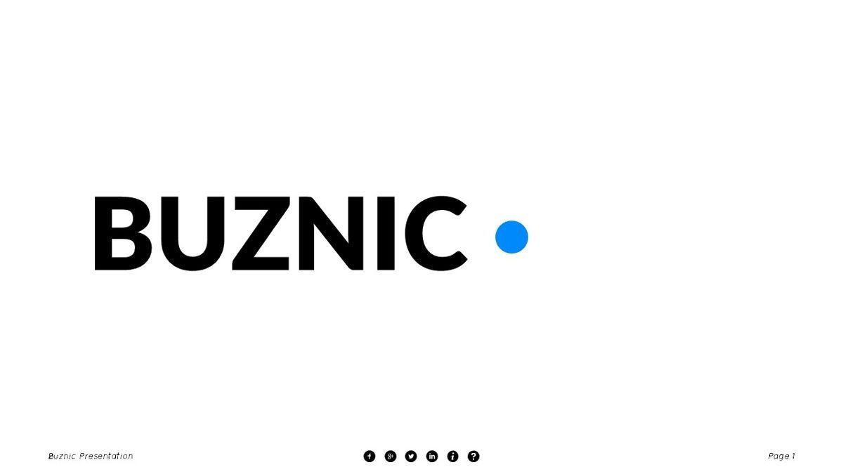 Buznic - Business Powerpoint Template, Slide 2, 06526, Business Models — PoweredTemplate.com