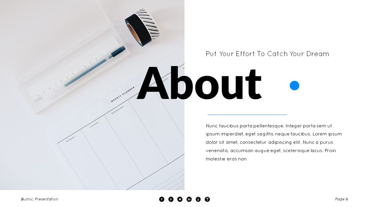 Buznic - Business Powerpoint Template, Slide 7, 06526, Business Models — PoweredTemplate.com
