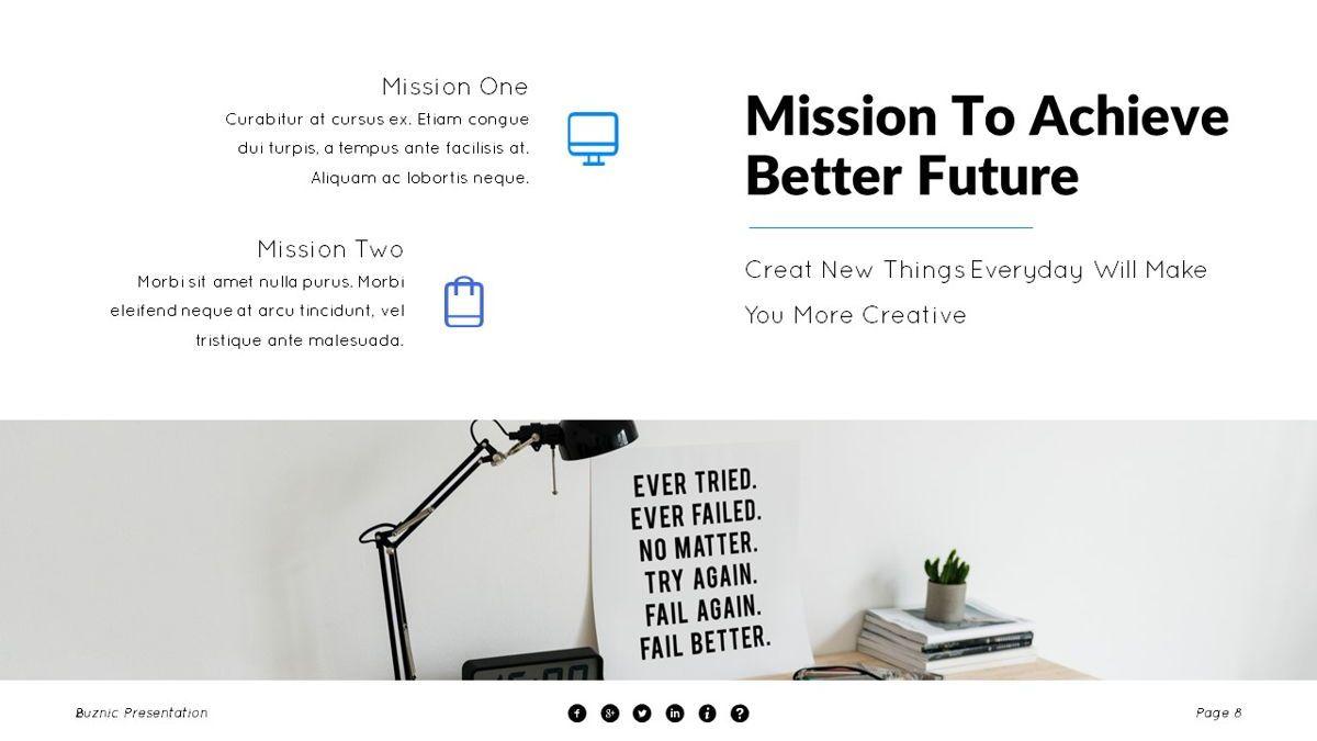 Buznic - Business Powerpoint Template, Slide 9, 06526, Business Models — PoweredTemplate.com