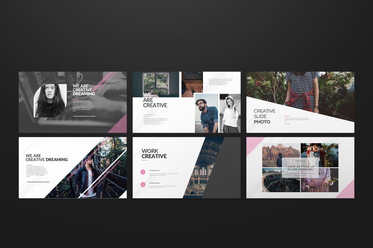 Around Business Google Slide, Slide 5, 06527, Presentation Templates — PoweredTemplate.com