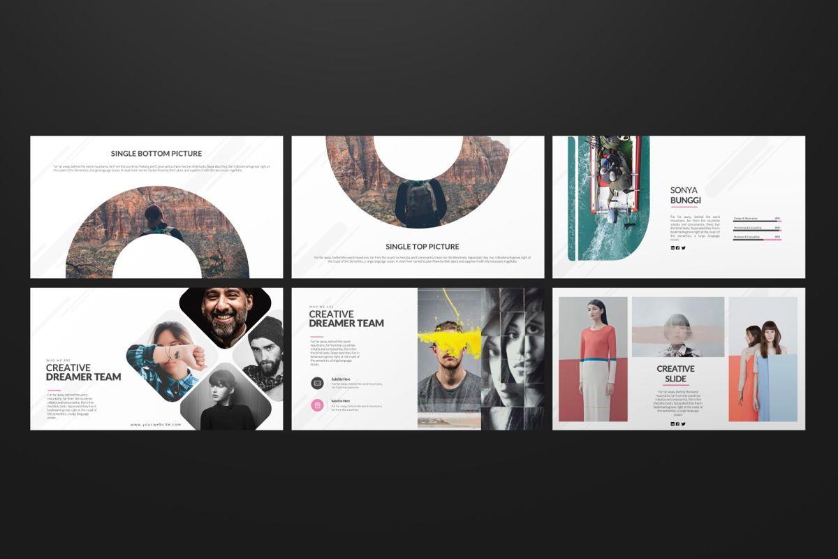 Around Business Google Slide, Slide 6, 06527, Presentation Templates — PoweredTemplate.com