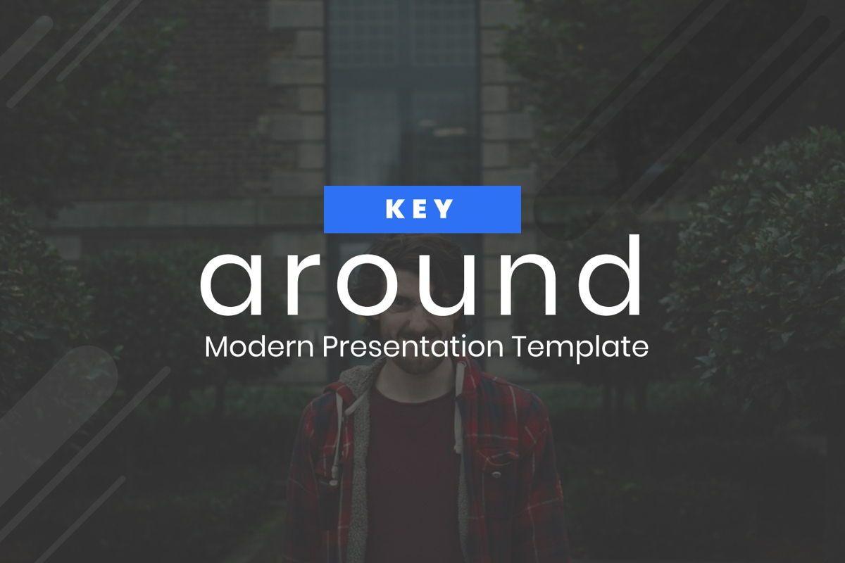 Around Business Keynote, 06528, Presentation Templates — PoweredTemplate.com
