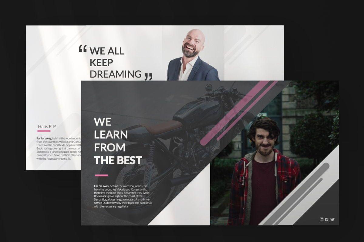 Around Business Keynote, Slide 7, 06528, Presentation Templates — PoweredTemplate.com
