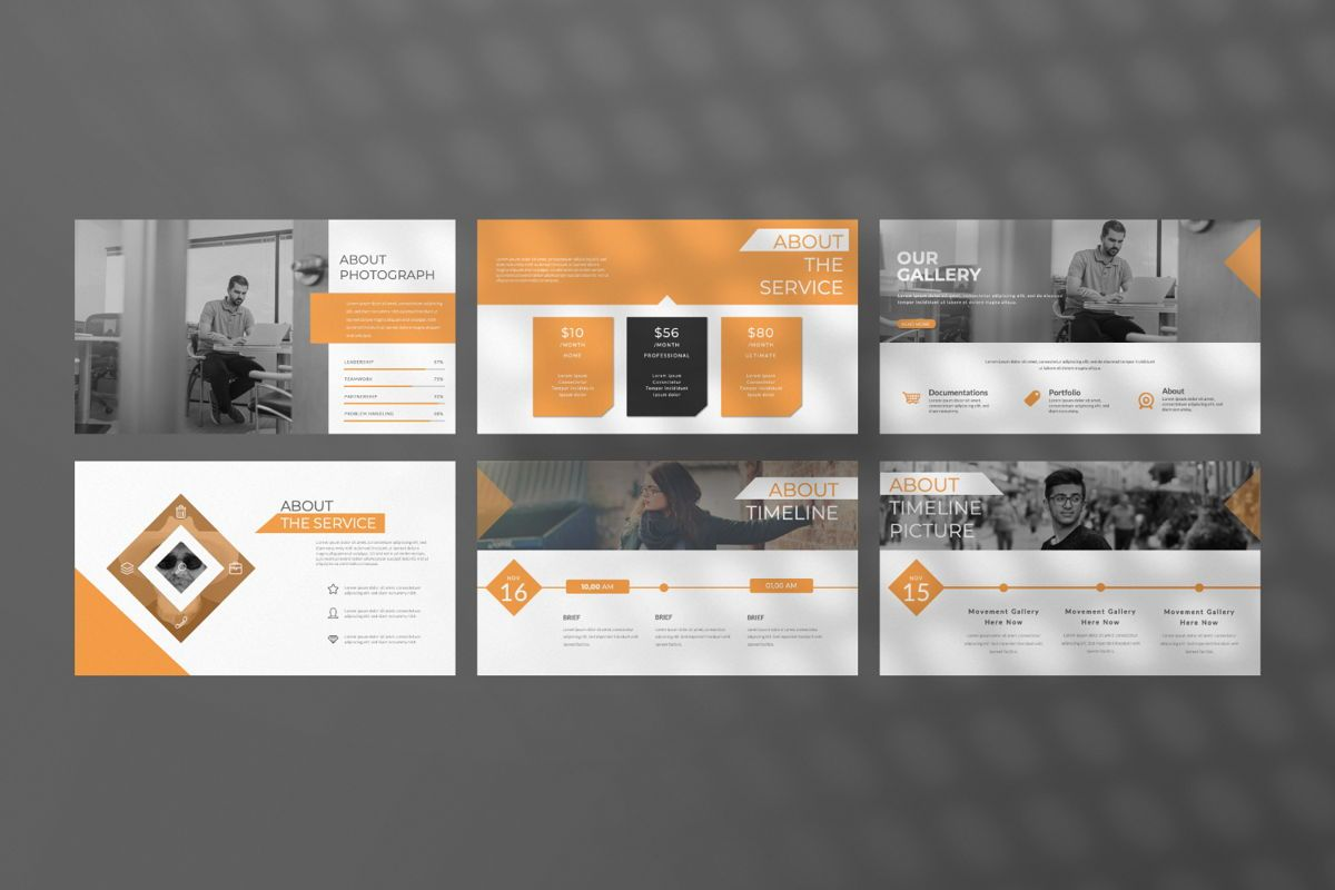 Movement Creative Keynote, Slide 4, 06530, Presentation Templates — PoweredTemplate.com