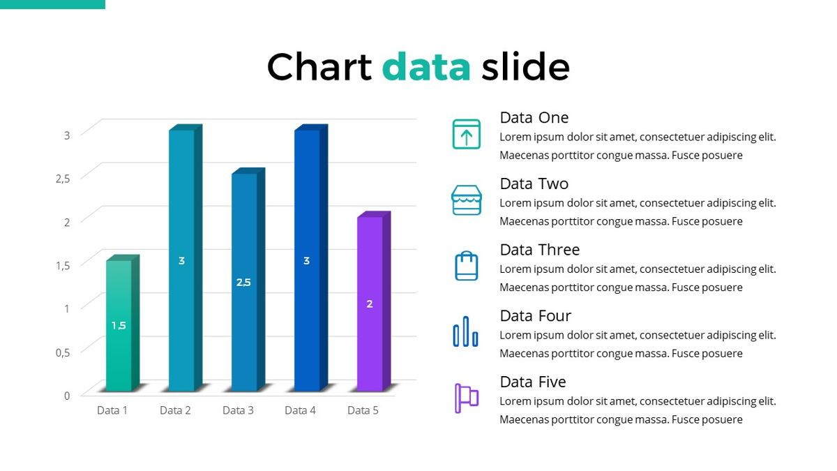 Reepord - Clean Powerpoint Template, Slide 27, 06531, Data Driven Diagrams and Charts — PoweredTemplate.com