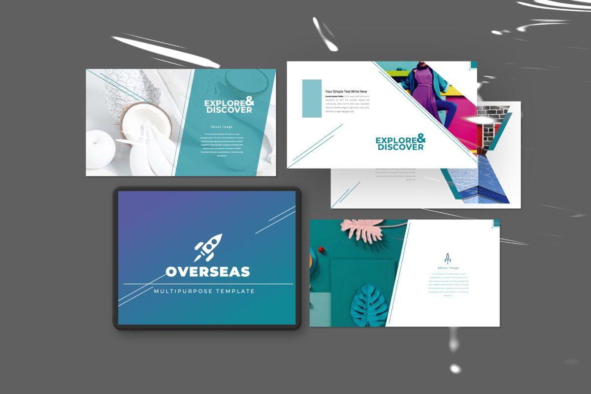 Overseas Business Google Slide, 06532, Presentation Templates — PoweredTemplate.com