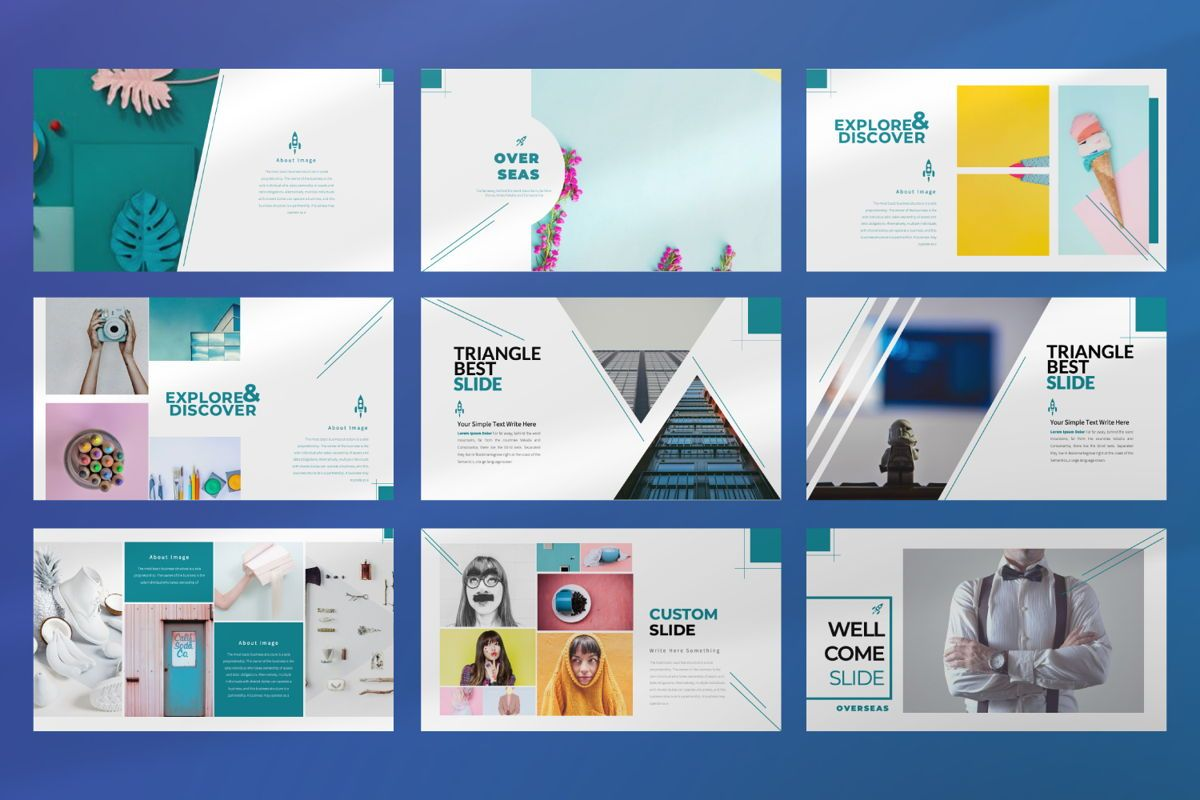 Overseas Business Keynote, Slide 3, 06533, Presentation Templates — PoweredTemplate.com