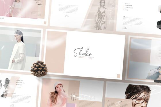 Presentation Templates: Shoko Minimal Powerpoint #06538