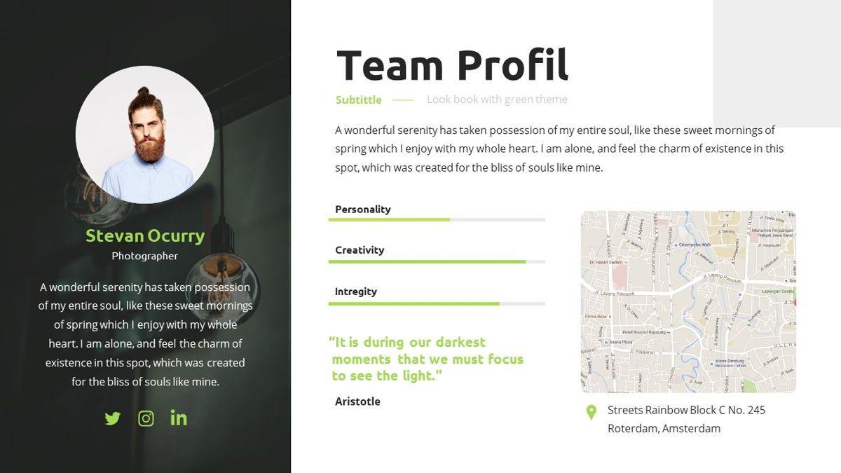 Garnicia - Fresh Powerpoint Template, Slide 12, 06539, Business Models — PoweredTemplate.com