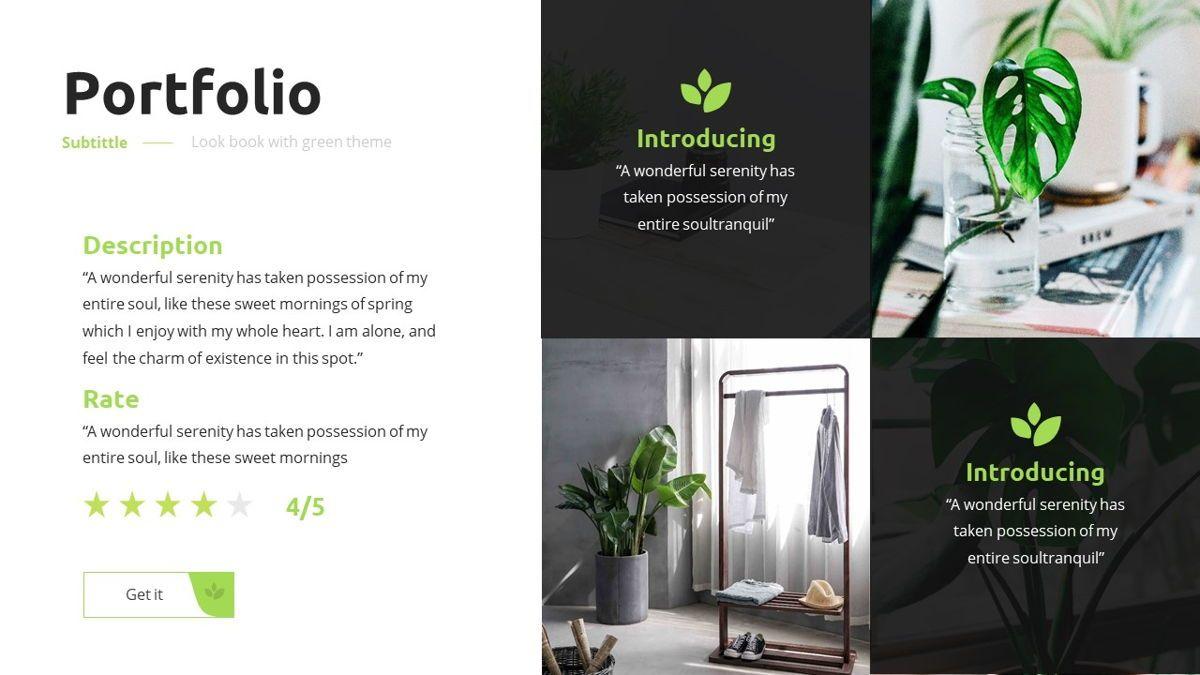 Garnicia - Fresh Powerpoint Template, Slide 16, 06539, Business Models — PoweredTemplate.com