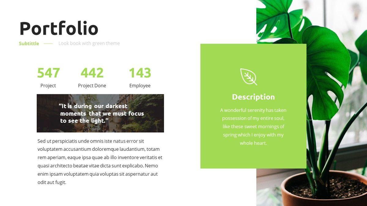 Garnicia - Fresh Powerpoint Template, Slide 17, 06539, Business Models — PoweredTemplate.com