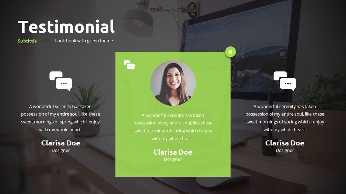 Garnicia - Fresh Powerpoint Template, Slide 29, 06539, Business Models — PoweredTemplate.com