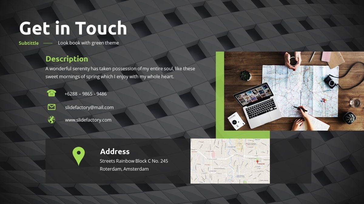 Garnicia - Fresh Powerpoint Template, Slide 30, 06539, Business Models — PoweredTemplate.com