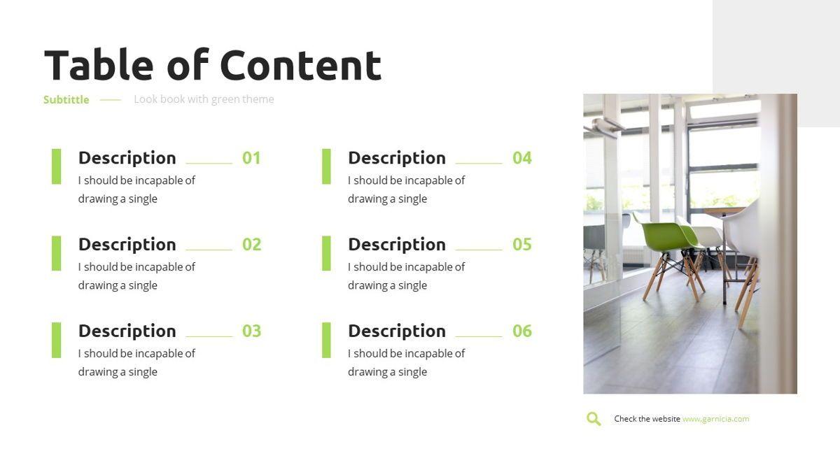 Garnicia - Fresh Powerpoint Template, Slide 4, 06539, Business Models — PoweredTemplate.com