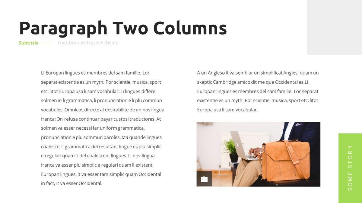 Garnicia - Fresh Powerpoint Template, Slide 5, 06539, Business Models — PoweredTemplate.com