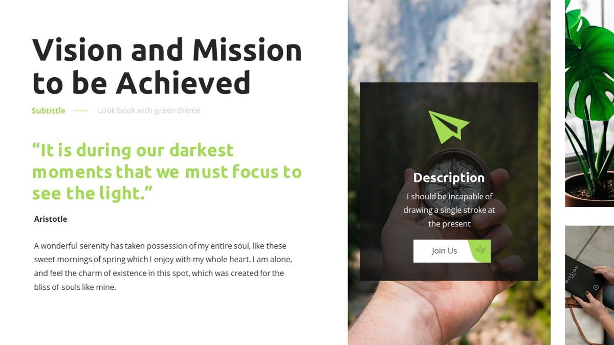 Garnicia - Fresh Powerpoint Template, Slide 8, 06539, Business Models — PoweredTemplate.com