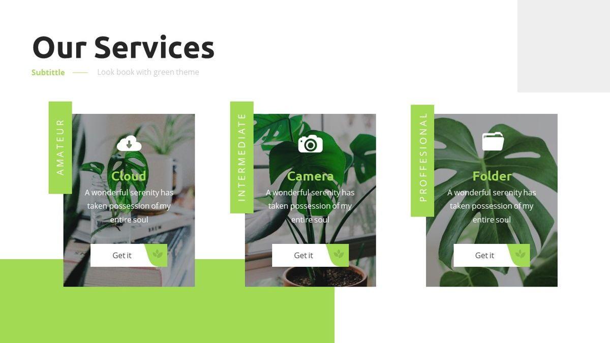Garnicia - Fresh Powerpoint Template, Slide 9, 06539, Business Models — PoweredTemplate.com