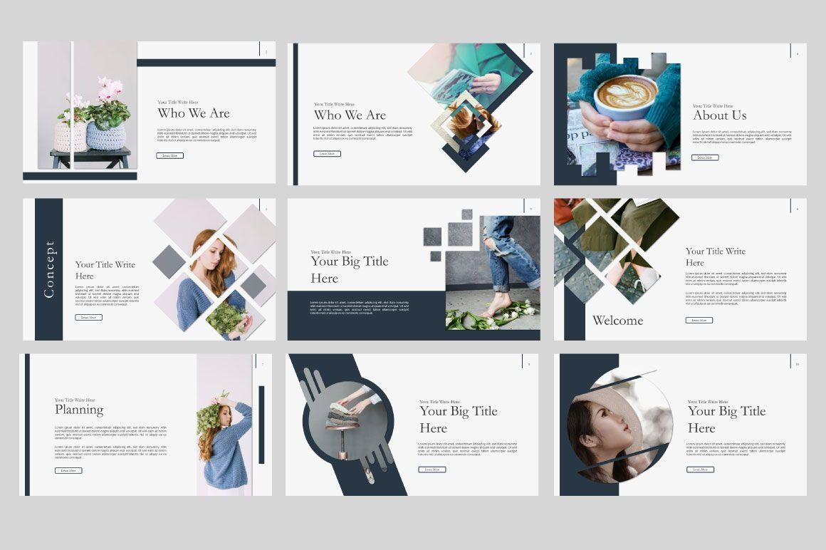Ailie Creative Google Slide, Slide 3, 06540, Presentation Templates — PoweredTemplate.com