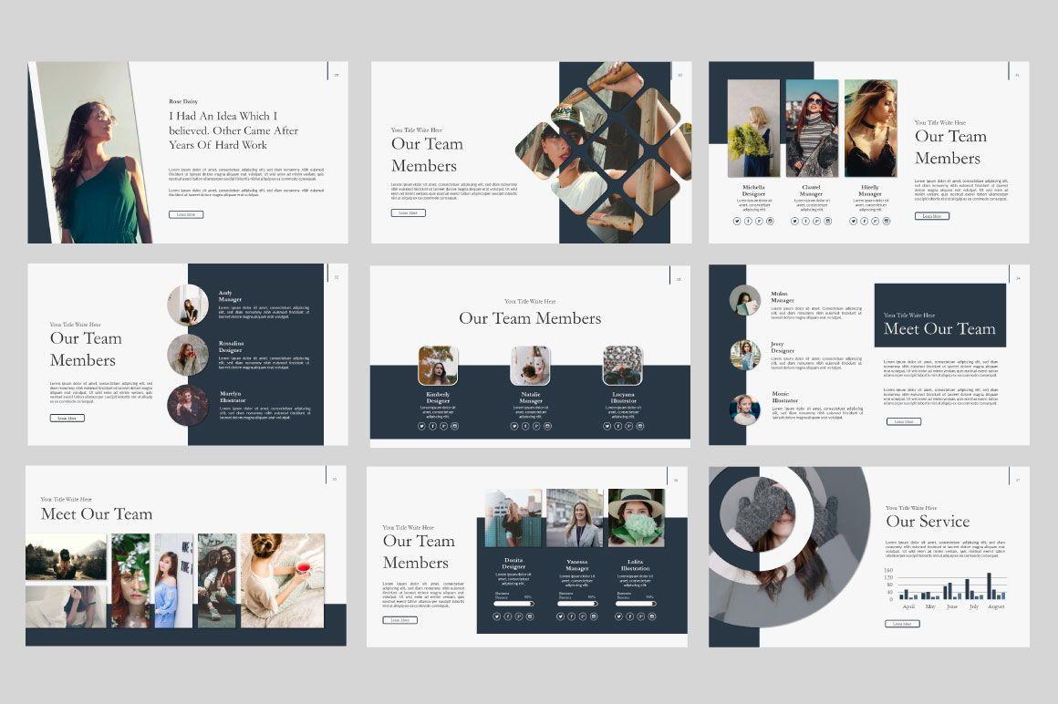 Ailie Creative Google Slide, Slide 6, 06540, Presentation Templates — PoweredTemplate.com