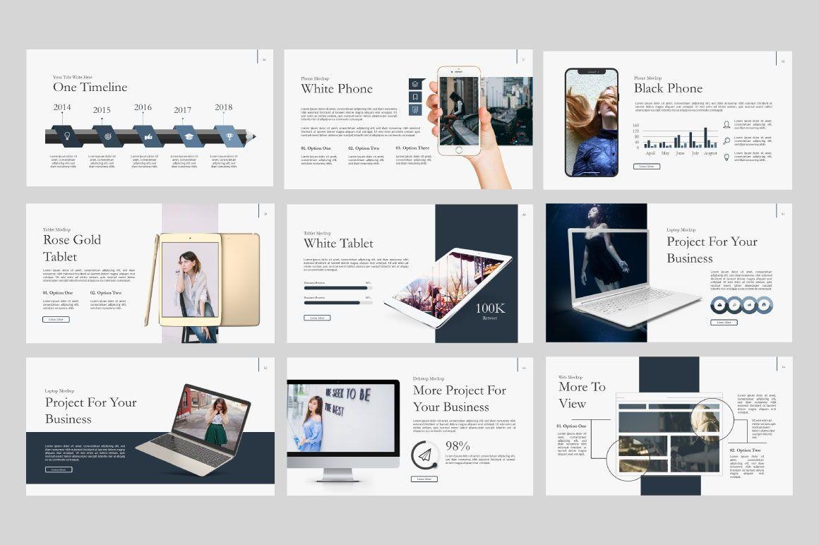 Ailie Creative Google Slide, Slide 9, 06540, Presentation Templates — PoweredTemplate.com