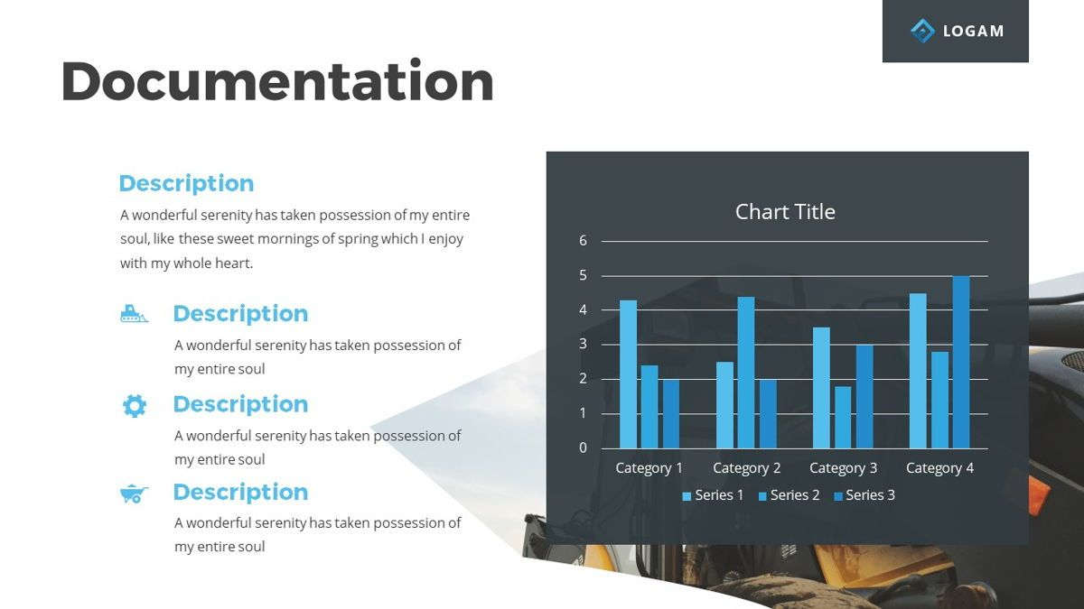 Logam - Multipurpose Powerpoint Template, Slide 16, 06543, Data Driven Diagrams and Charts — PoweredTemplate.com
