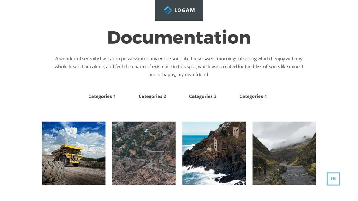 Logam - Multipurpose Powerpoint Template, Slide 17, 06543, Data Driven Diagrams and Charts — PoweredTemplate.com