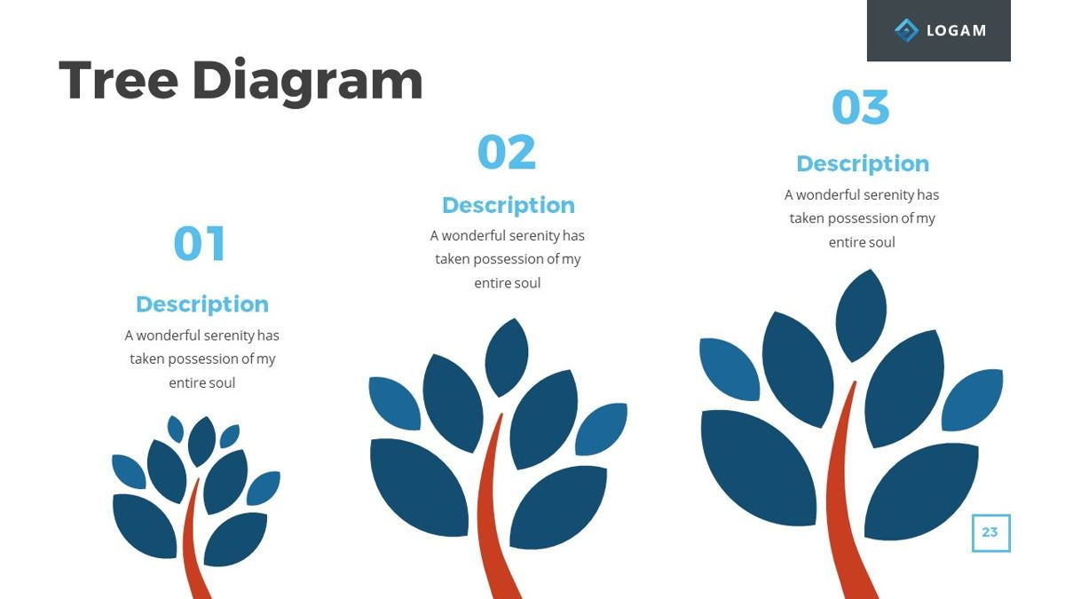 Logam - Multipurpose Powerpoint Template, Slide 24, 06543, Data Driven Diagrams and Charts — PoweredTemplate.com