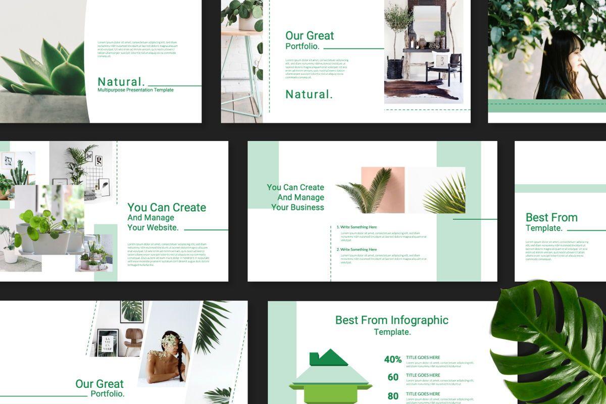 Natural Creative Google Slide, 06544, Presentation Templates — PoweredTemplate.com