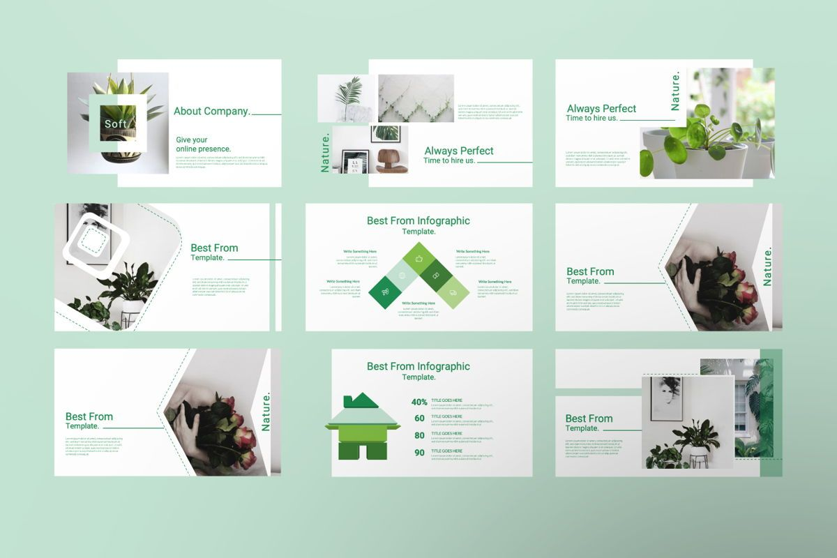 Natural Creative Google Slide, Slide 2, 06544, Presentation Templates — PoweredTemplate.com