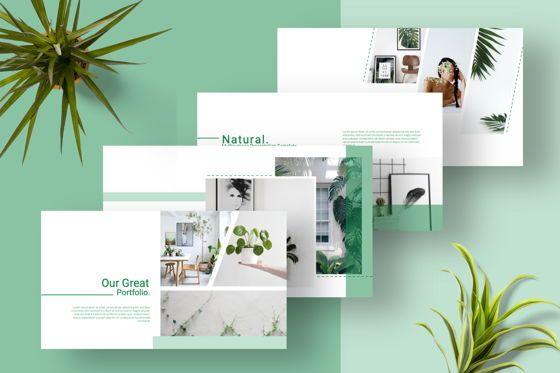 Presentation Templates: Natural Creative Keynote #06545