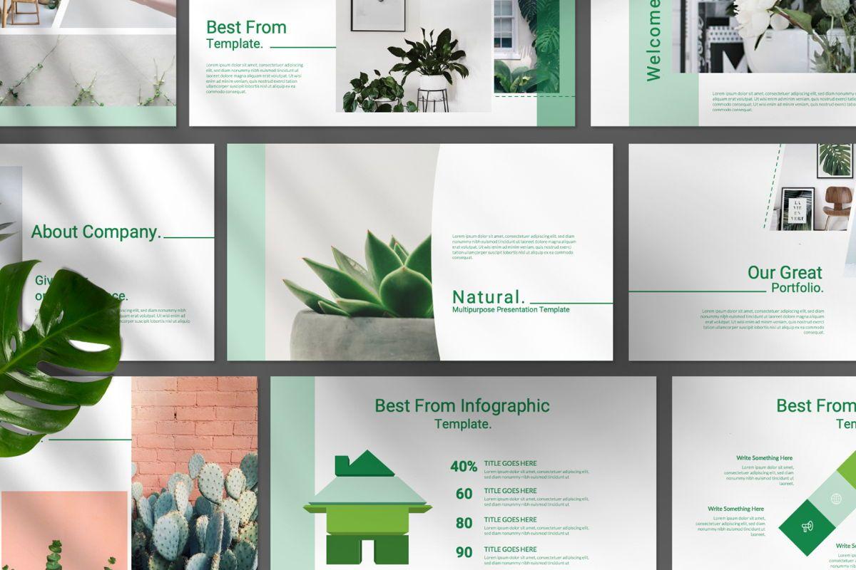 Natural Creative Keynote, Slide 8, 06545, Presentation Templates — PoweredTemplate.com