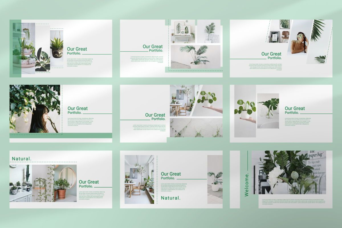 Natural Creative Powerpoint, Slide 3, 06546, Presentation Templates — PoweredTemplate.com