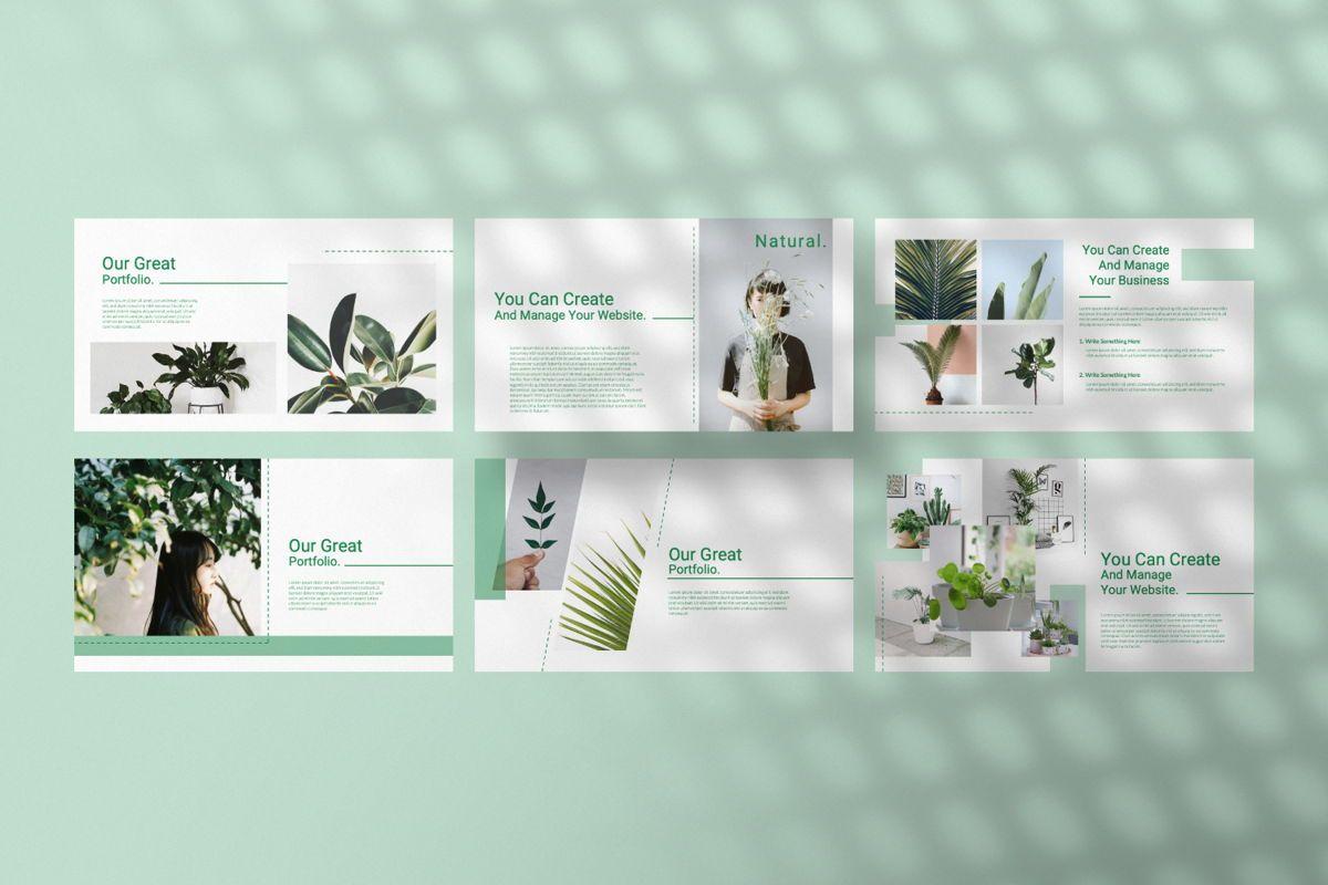 Natural Creative Powerpoint, Slide 4, 06546, Presentation Templates — PoweredTemplate.com