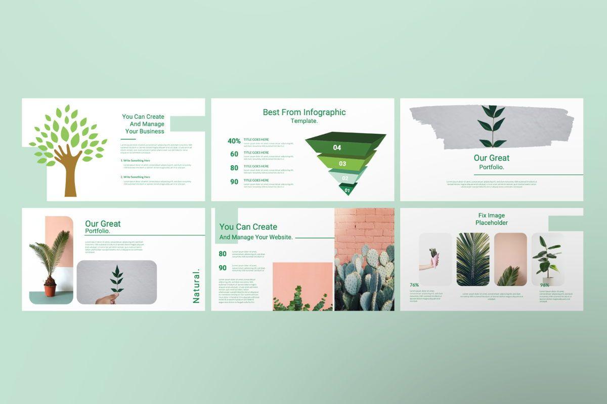 Natural Creative Powerpoint, Slide 6, 06546, Presentation Templates — PoweredTemplate.com