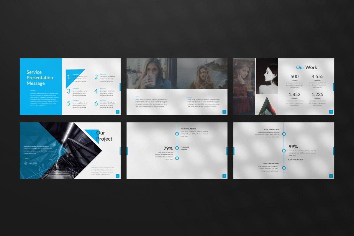 Sonia Creative Google Slide, Slide 4, 06547, Presentation Templates — PoweredTemplate.com