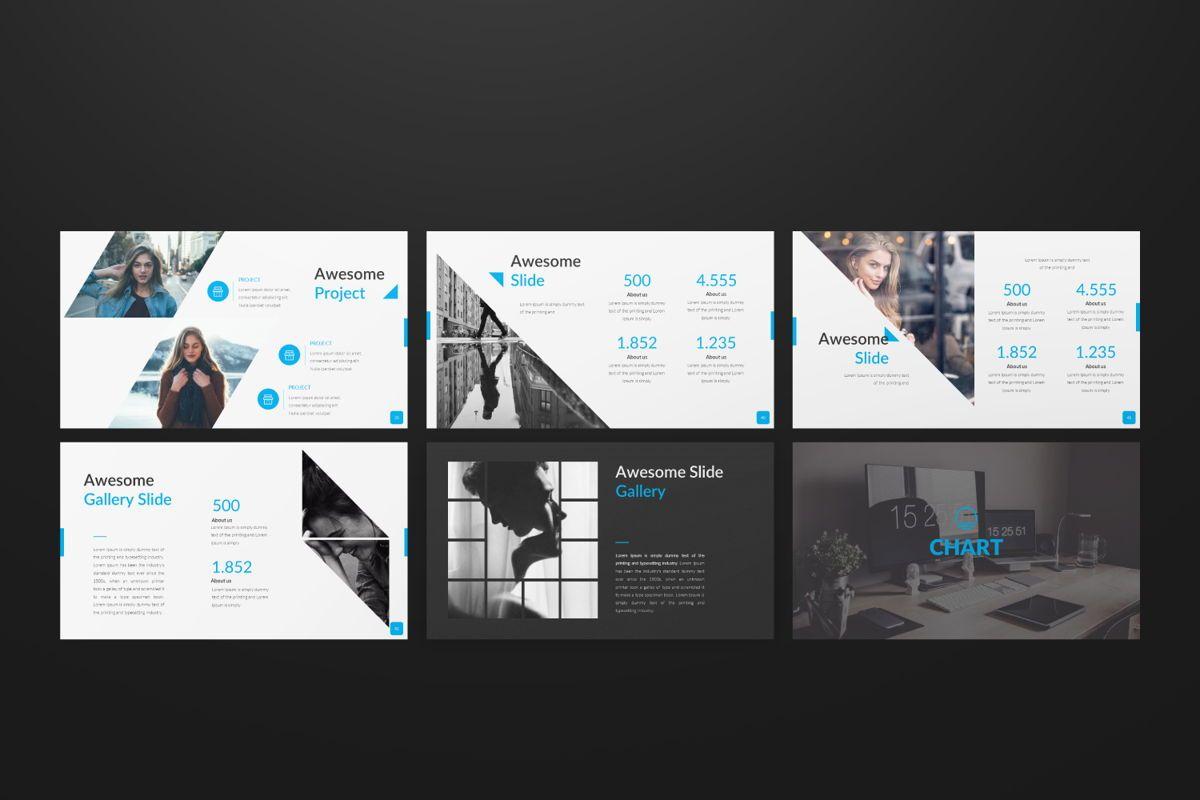 Sonia Creative Google Slide, Slide 6, 06547, Presentation Templates — PoweredTemplate.com