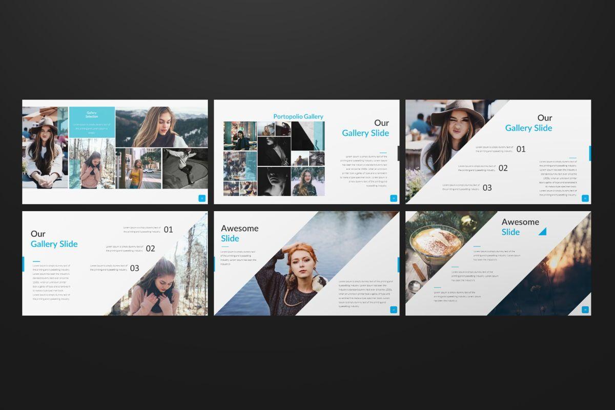 Sonia Creative Google Slide, Slide 7, 06547, Presentation Templates — PoweredTemplate.com