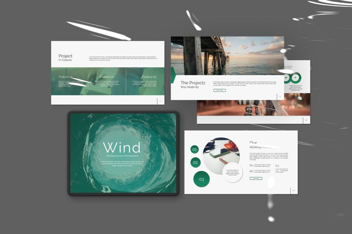 Wild Creative Google Slide, 06550, Presentation Templates — PoweredTemplate.com