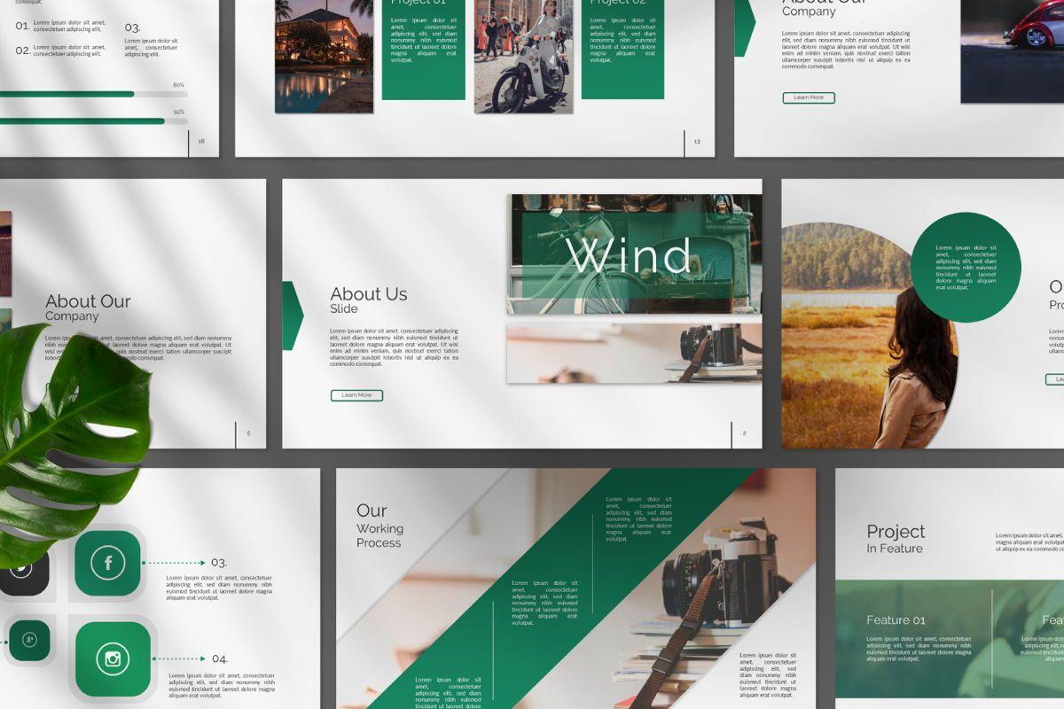 Wild Creative Google Slide, Slide 10, 06550, Presentation Templates — PoweredTemplate.com