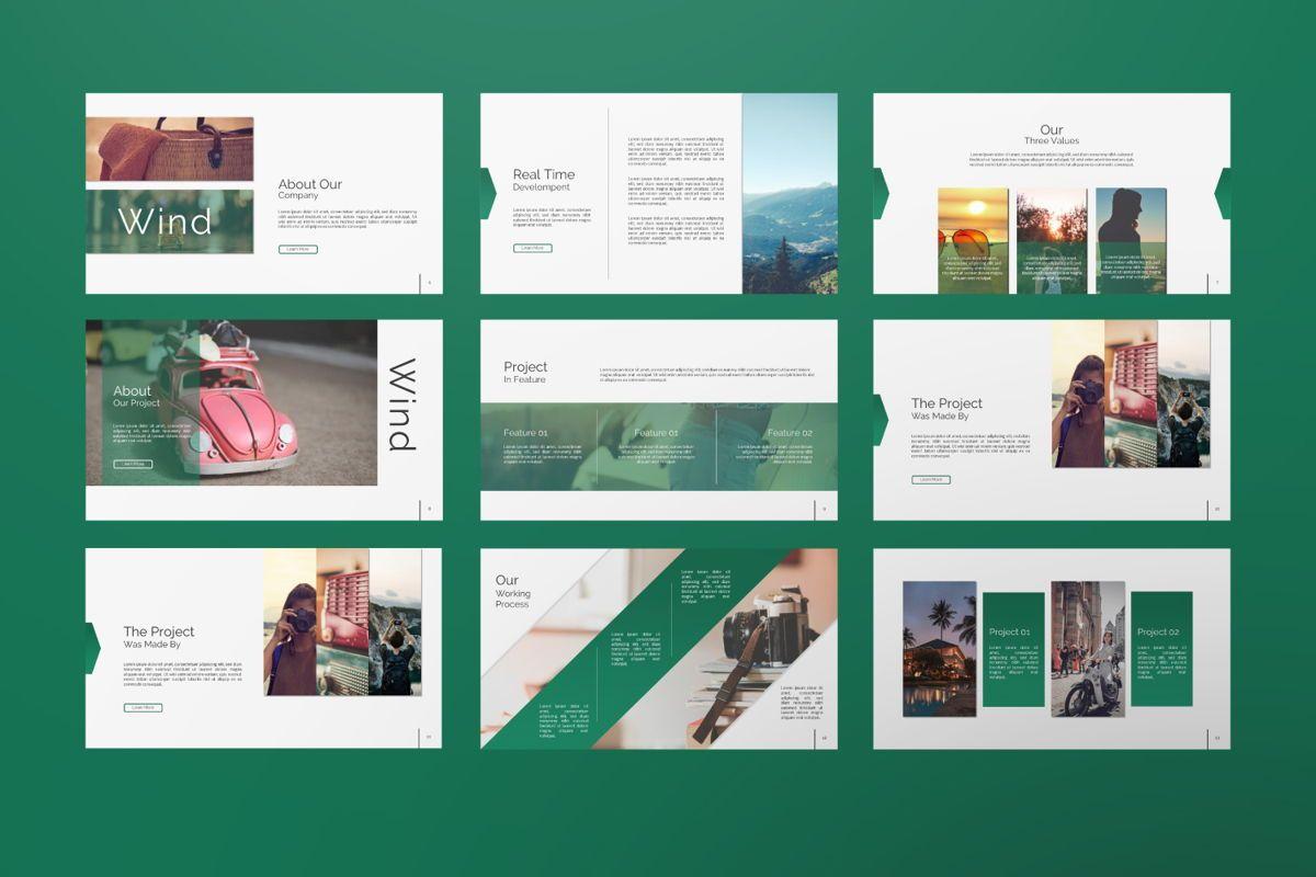 Wild Creative Google Slide, Slide 2, 06550, Presentation Templates — PoweredTemplate.com