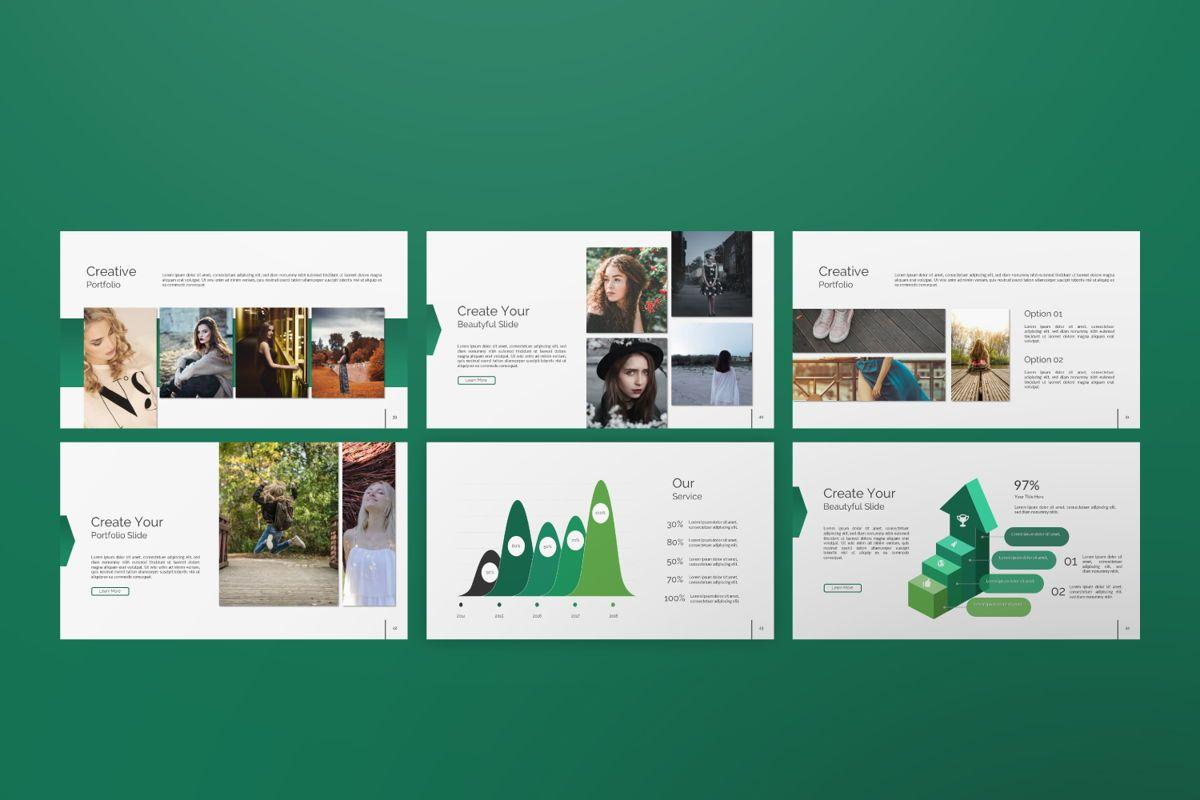 Wild Creative Google Slide, Slide 6, 06550, Presentation Templates — PoweredTemplate.com