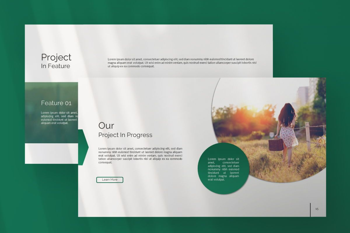 Wild Creative Google Slide, Slide 7, 06550, Presentation Templates — PoweredTemplate.com