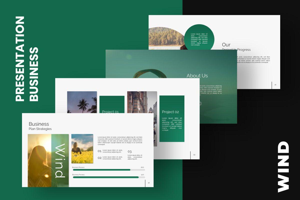 Wild Creative Keynote, 06551, Presentation Templates — PoweredTemplate.com