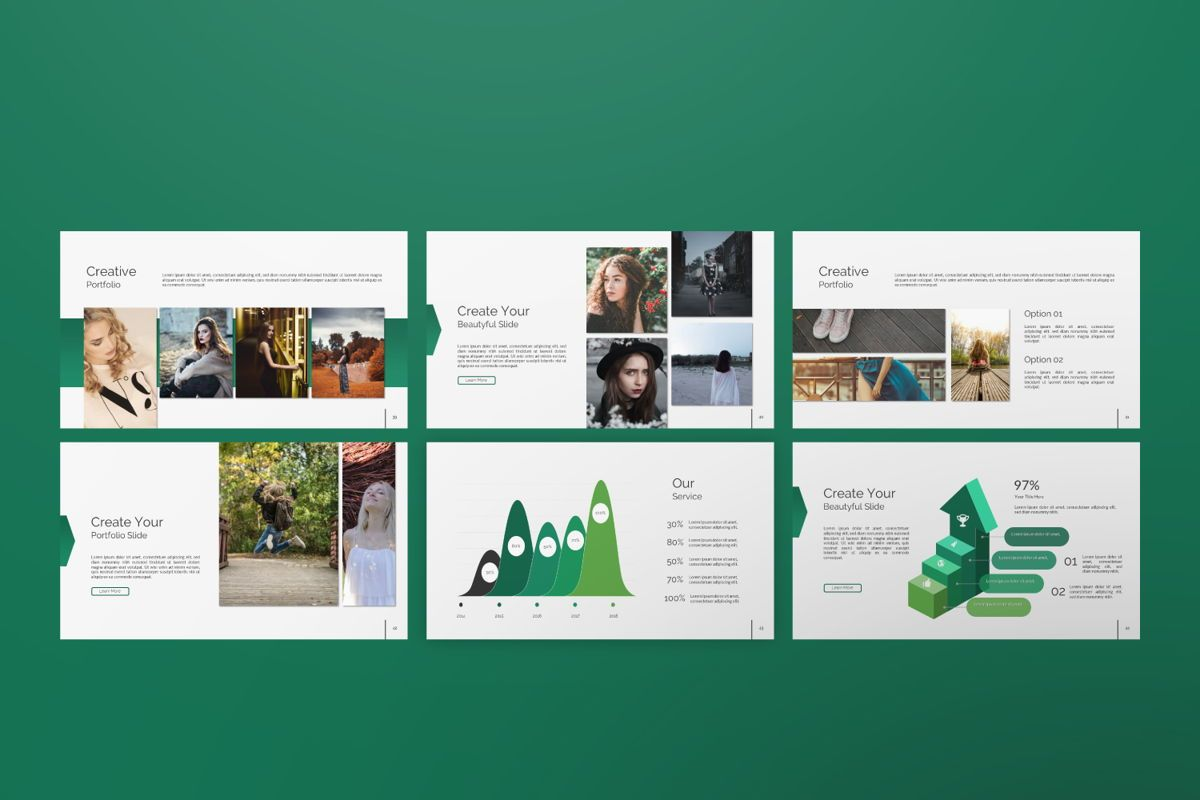 Wild Creative Powerpoint, Slide 6, 06552, Presentation Templates — PoweredTemplate.com