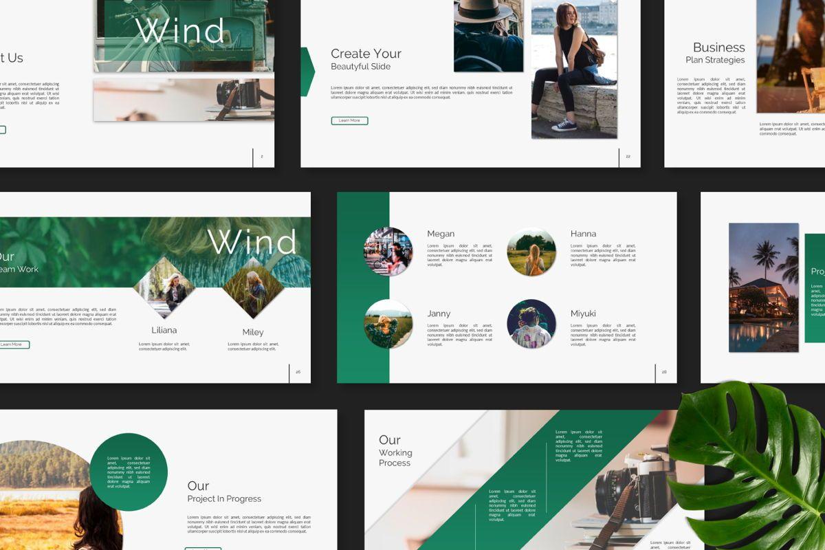 Wild Creative Powerpoint, Slide 8, 06552, Presentation Templates — PoweredTemplate.com