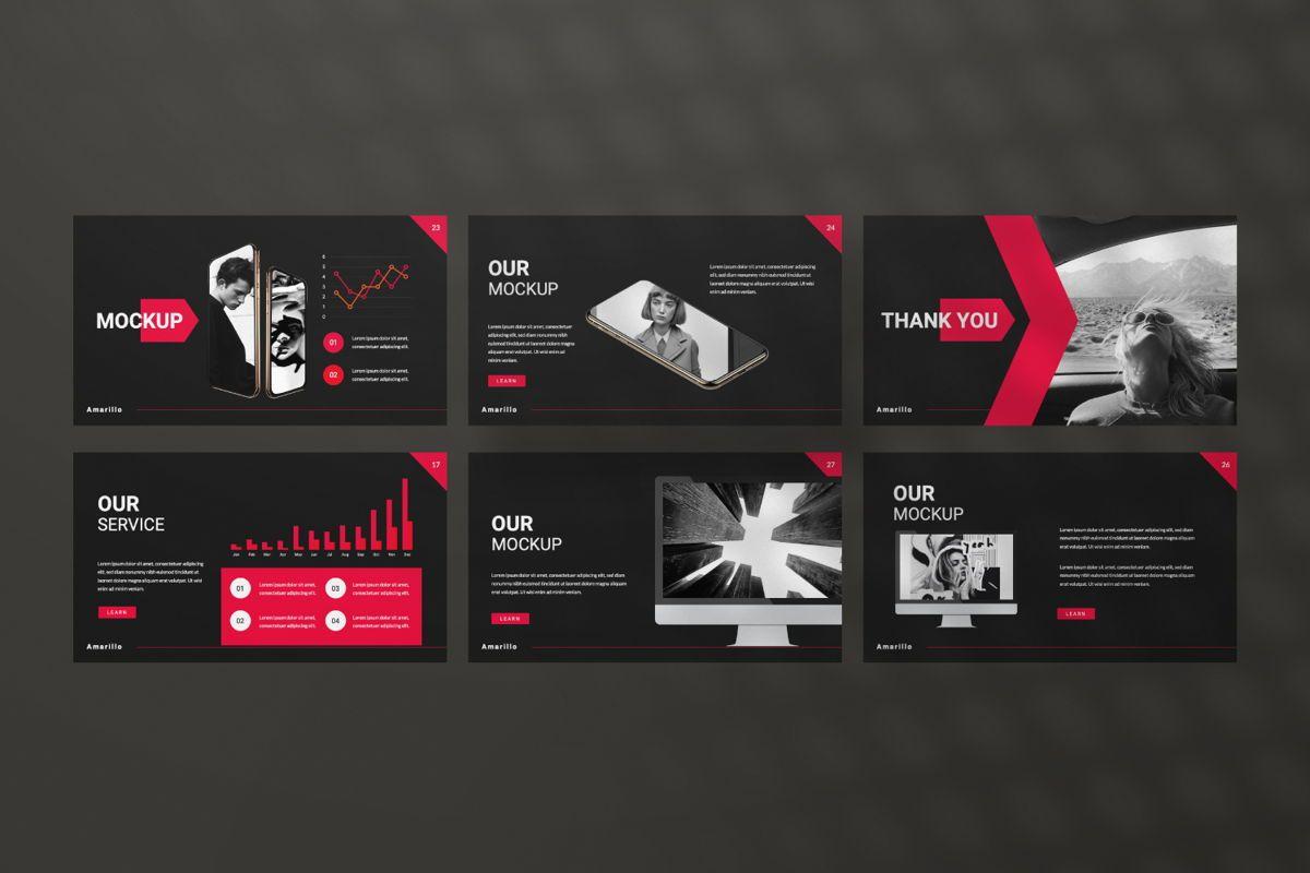 Amarillo Business Keynote, Slide 4, 06554, Presentation Templates — PoweredTemplate.com