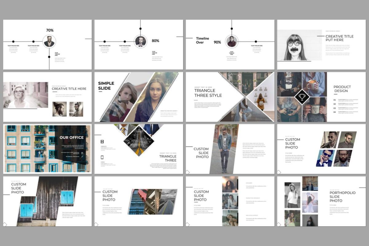 River Creative Google Slide, Slide 2, 06559, Presentation Templates — PoweredTemplate.com