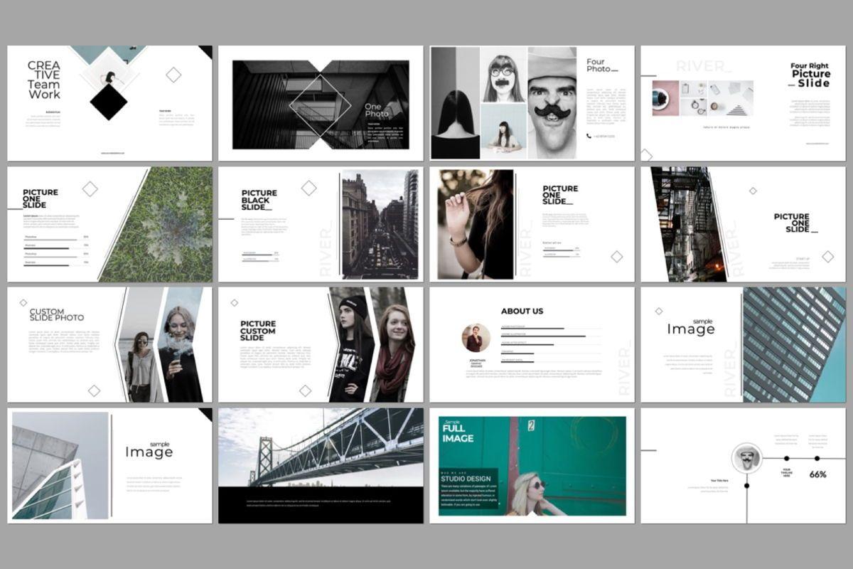 River Creative Google Slide, Slide 3, 06559, Presentation Templates — PoweredTemplate.com