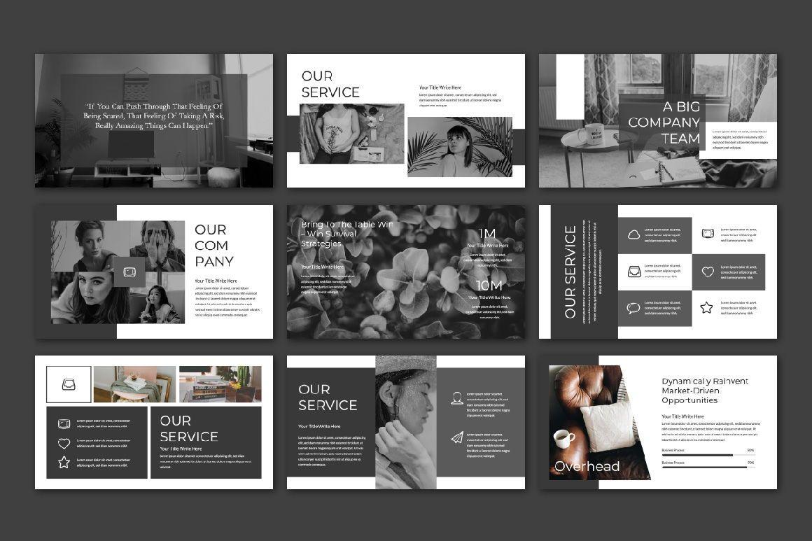 Overhead Creative Google Slide, Slide 4, 06562, Presentation Templates — PoweredTemplate.com